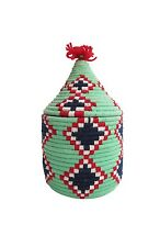 Berber Moroccan Wool Raffia Basket So Beautiful And Decorative! Urban Outfitters