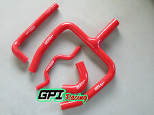 silicone radiator hose Y kit FOR Kawasaki KX250F KXF 250 2009-2015 14 13 12 ,RED