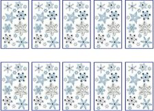 HUGE LOT Jolee's SNOWFLAKES Stickers - 10 Packs - WINTER SNOW CHRISTMAS HOLIDAY