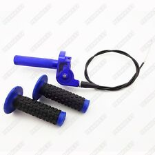 CNC Aluminum Twist Throttle Grips Cable For Yamaha TTR 110 125 YZ 250 Dirt Bike
