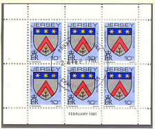 JER 1981 February H-Blatt 10 P Wappen / Coat of Arms mit ESST VFU