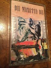 "Die Monster Die ""Withdrawal Method"" Tape 1994 Biohazard Type O Negative"