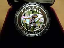 2013 Canada 1/2 Oz  Fine Silver Dragonfly Coin  (Twelve Spotted Skimmer)