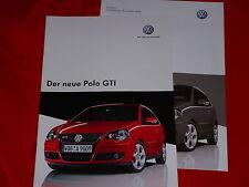 VW Polo GTI Prospekt + Preisliste von 2005