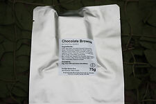 CHOCOLATE BROWNIE Camping British Army MRE Rations Hiking Survival Fishing
