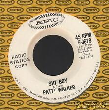 (Hear) 1964 Patty Walker Teen Rock & Roll / Rockabilly DJ 45 (Shy Boy)