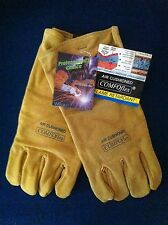 Weldas Comfoflex Heavy Duty Air Cushioned Welding Gauntlets/Gloves  X Large