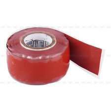 Self Fusing Silicone Performance Repair Tape Bonding Rescue Wire Hose Tape Red