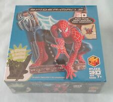 MARVEL SPIDER-MAN 3 THE MOVIE PUZZ 3D POSTER PUZZLE GLOW IN THE DARK HASBRO 2007