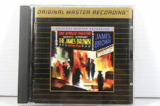 JAMES BROWN: 'LIVE' AT APOLLO ~ MFSL 24K GOLD CD ~ RARE, AUDIOPHILE, USA MADE