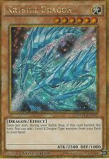YU-GI-OH CARD: KRYSTAL DRAGON - GOLD SECRET RARE GP-MVP1-ENGV2 - LIMITED EDITION
