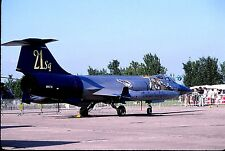 Original colour slide F-104S Starfighter MM6716/53-21 of 53 Stormo Italian AF