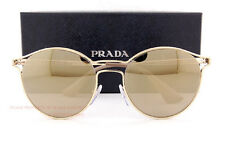 Brand New Prada Sunglasses 62SS ZVN 1C0 Gold/Gold Mirror for Women