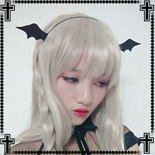 Japanese Sweet Lolita  Black Gothic Devil Cute Headband Hair Band hair accessory