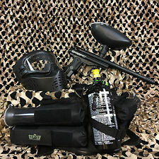 NEW Kingman Spyder Victor EPIC Paintball Marker Gun Package Kit - Diamond Black