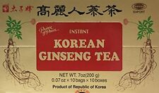 Prince Of Peace Instant Korean Panax Ginseng Tea - 100 Count NEW