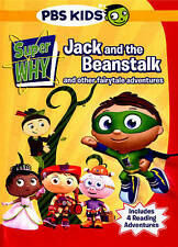 Super Why - Jack and the Beanstalk and Other Fairytale Adventures DVD, 2015