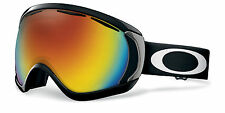 Oakley CANOPY Snow Goggles Matte Black Fire Iridium Free Express Eu Delivery