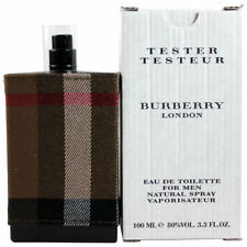 BURBERRY LONDON FABRIC 3.3  Oz 3.4 oz 100 ml  EDT SPRAY FOR MEN