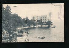 Italy TRIESTE Miramare Lake u/b 1905 PPC