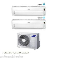Condizionatore Dual Split Samsung Inverter AR7000M Smart Wi-Fi 9000+9000 Btu 9+9