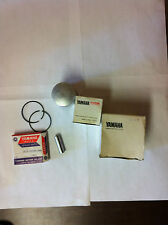 Yamaha 1980 YZ80G PISTON Kit 1st Over OEM# 3R1-11630-12, NOS