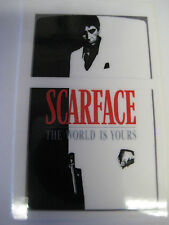 Windproof  Fliptop Lighter  -Sticker -Decal  ONLY [ Scarface  ]