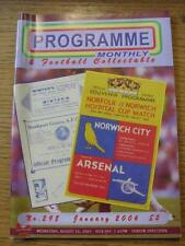 Jan-2006 Programme Monthly & Collectable: The Voice Of 'Football Programme' Coll