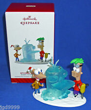 Hallmark Ornament Disney Channel Phineas and Ferb Icy Cool Adventure 2014 Perry