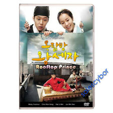 """BUY 5 GET 1 FREE""  Rooftop Prince Korean Drama (5DVDs) Excellent_English!"