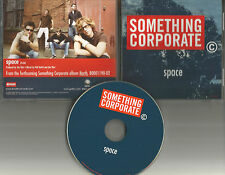 Something Corporate Space PROMO Radio DJ CD Single Jack's Mannequinn 2003 USA