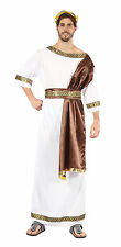 Dios Griego Toga Fancy Dress Costume Con Banda De Julius Caesar Romano Antiguo Outfit