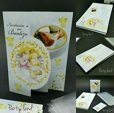 24 Invitaciones De Bautizo Spanish Baptist Christening Invitations Party Favor