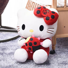 "50cm Super Big Cute Hello Kitty Beetle EDITION Plush Big Doll Kids Toy 20"" Red"