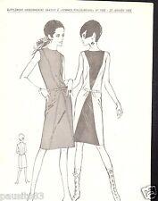 Patron de couture Femme d'Aujourd'hui Robe de style nouveau taille 42