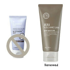 *THE FACE SHOP* JEJU Volcanic lava Peel-off Clay Nose Mask 50g