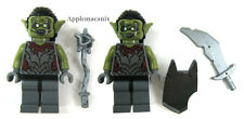 NEW LEGO 9473 Lord of the Rings Cave Troll Mines of 2 MORIA ORCS Minifigures Fig