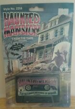 Rubie's Vintage 1987 Halloween Haunted Mansion Creepy Horror Sounds Tape!! NEW!