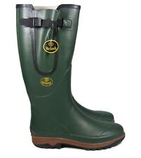 Mens Wetlands Rubber Waterproof Walking Wellies Festival Wellington Boots Size10