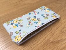 Handmade In Cath Kidston Blue Woodland Rose - Fabric Pencil/Make-Up/Glasses Case