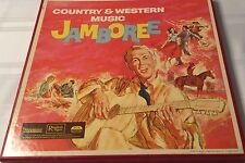 33 1/3 LP Vinyl Record Set Readers Digest Country & Western Music Jamboree