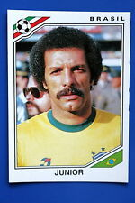 Panini WC MEXICO 86 STICKER N. 246 BRASIL JUNIOR WITH BACK VERY GOOD/MINT