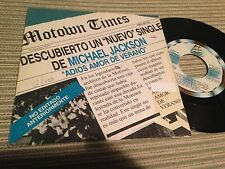 "MICHAEL JACKSON SPANISH 7"" SINGLE SPAIN PROMO - FAREWELL MY SUMMER LOVE"