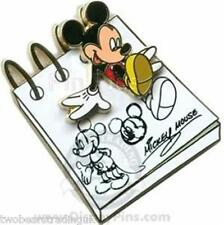 Disney Pin: WDW/DLR  From the Sketch Pad - Mickey (New/Card)