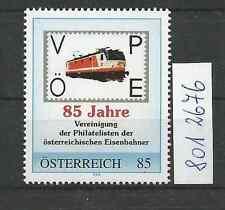 """Österreich PM personalisierte Marke Eisenbahn """"85 Jahre VÖPE  **"""