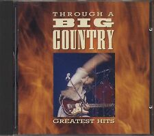 BIG COUNTRY - Through a Big Country - Greatest hits CD 1990 NEAR MINT CONDITION