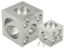 "Pro Quality 3"" x 3"" Solid Steel Doming Dapping Block Metal Shaping Bead Jewelry"