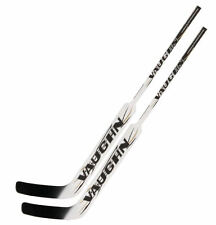 2 Vaughn 7490 composite goal stick left hand 26 white new senior hockey goalie