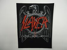 SLAYER BLACK EAGLE BACK PATCH