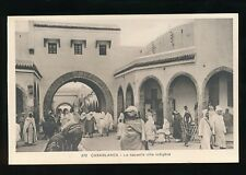 Morocco CASABLANCA La Nouvelle Ville Indigene c1920/30s? PPC